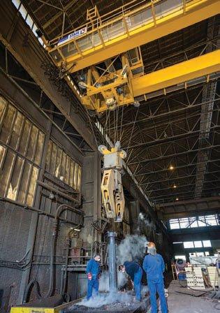 stahl slewing crane m