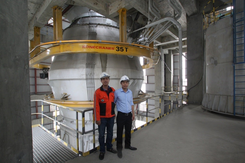 World Larest S Cement Plant : Latest factory crane industry news hoist magazine
