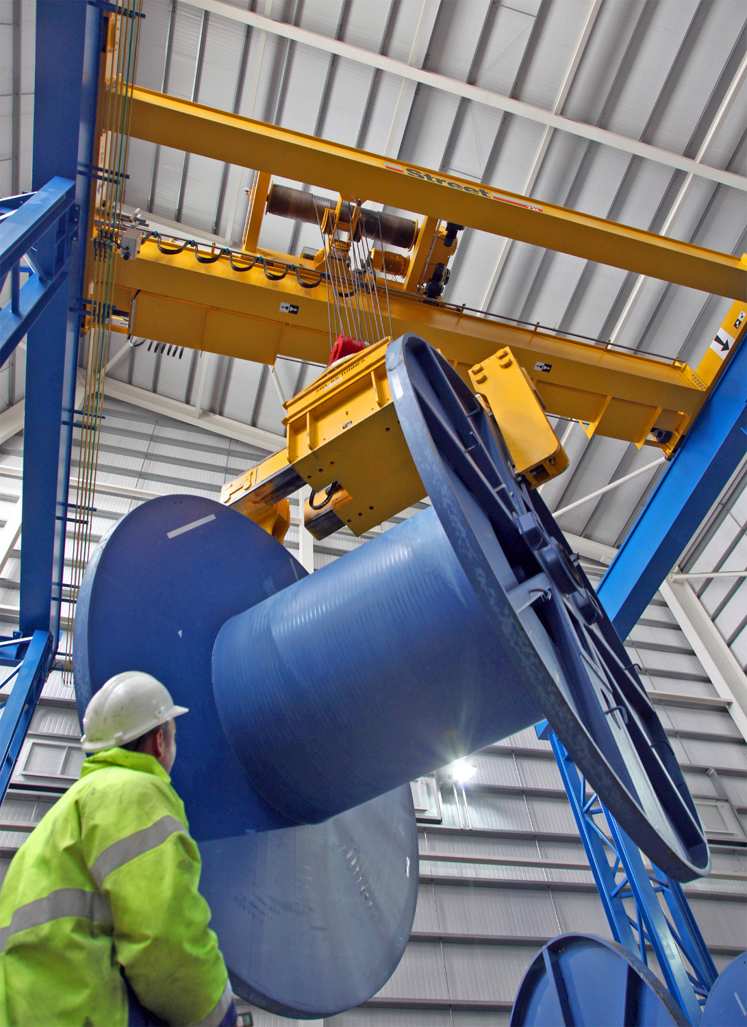 ensuring industrial safety with crane spare Texas tech university department of environmental health & safety  2 a attend training on the requirements of the crane safety program and the appropriate.